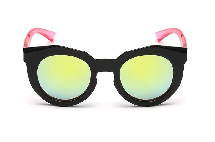 Bamware - Simone Octagonal Acrylic Sunglasses