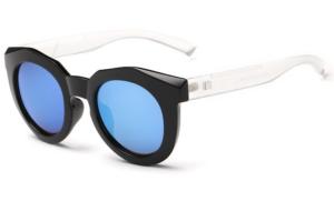 Bamware - Simone Octagonal Acrylic Sunglasses White