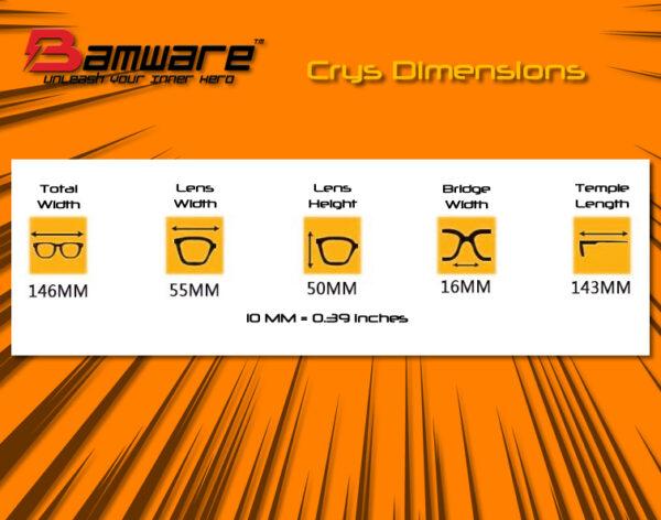 Bamware - Crys Gel Aviator Sunglasses