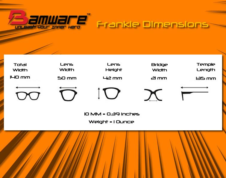 Bamware - Frankie Flat Lens Sunglasses