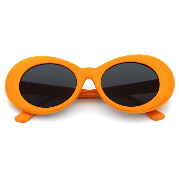 Bamware Cookie Sunglasses - Oval Kurt Kobain Inspired